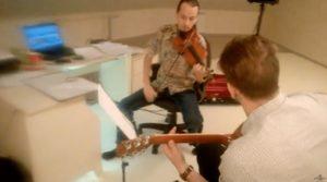 Преподаватели Лаборатории звука   Гитара и скрипка. Очень красивая мелодия