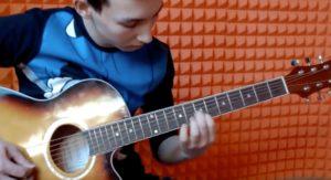 Данир | Noise MC — «Выдыхай» на гитаре.